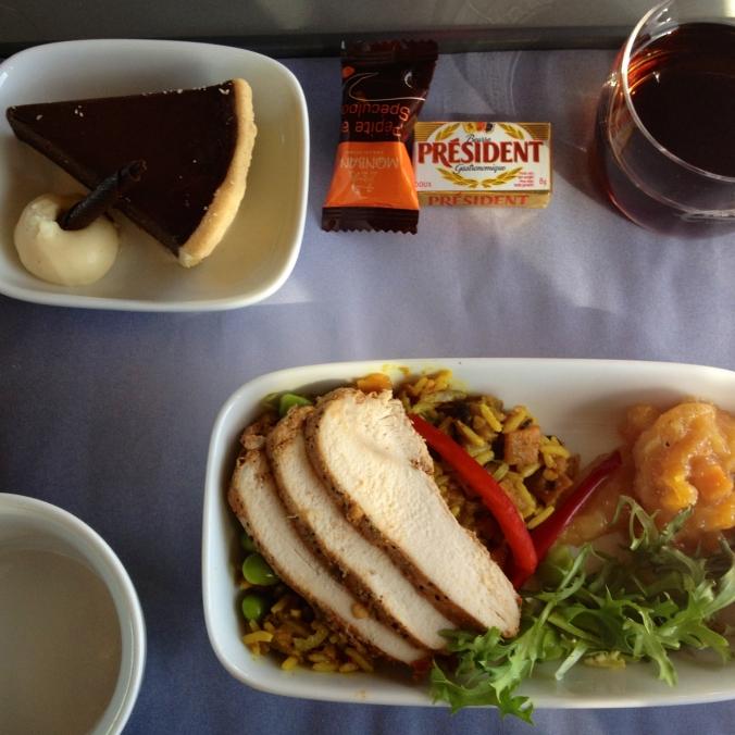 eurostar meal