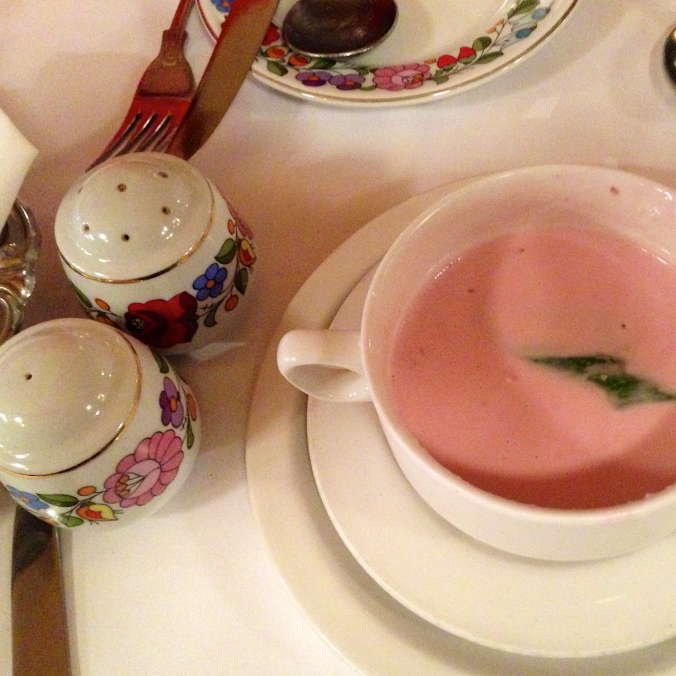 hungarian cherry soup