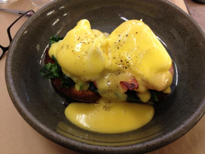 rose bakery eggs benedict