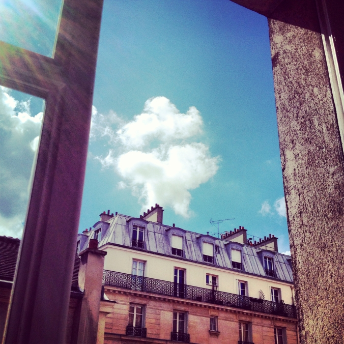 view from Marais Apt.