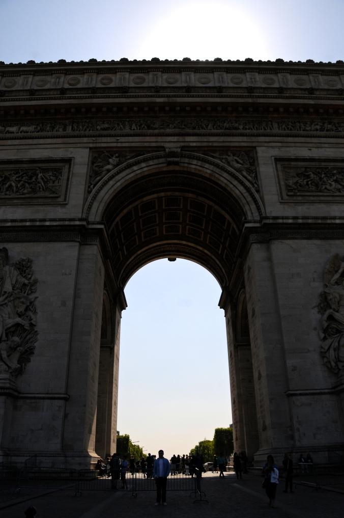 arc de triomphe size