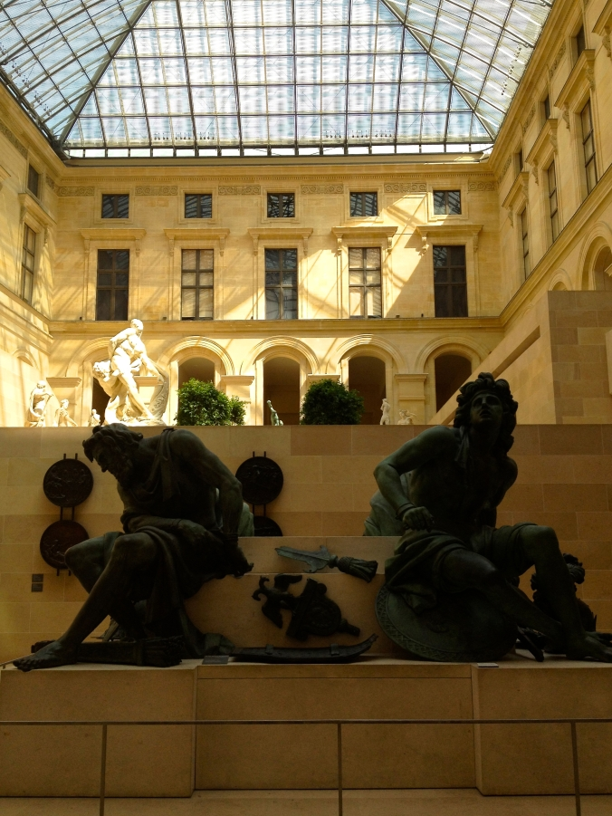 inside the louvre 2