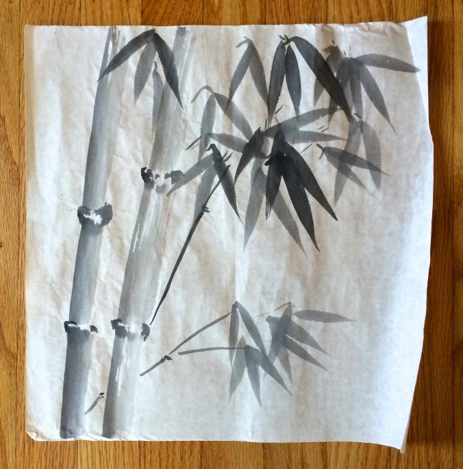 sumi-e bamboo 2