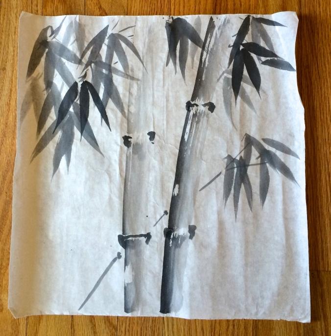 sumi-e bamboo 3