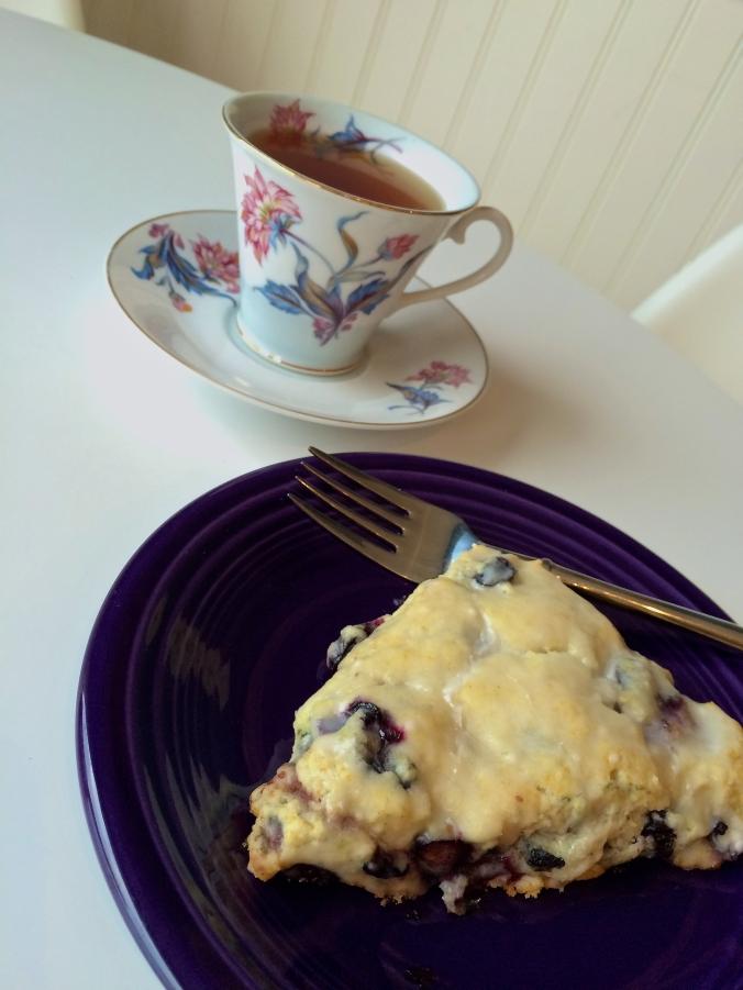 blueberry scone