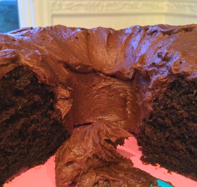 up close cake