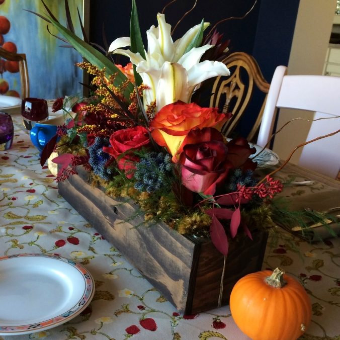 Centerpiece Thanksgiving 2013