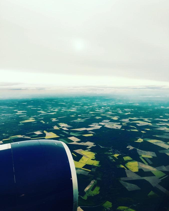 arriving Paris