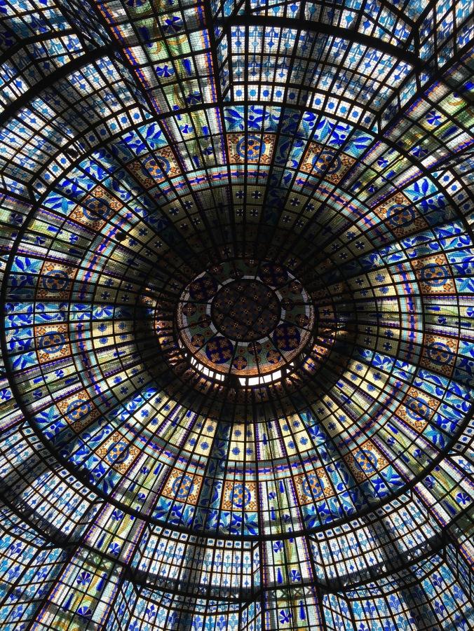 ceiling of brasserie