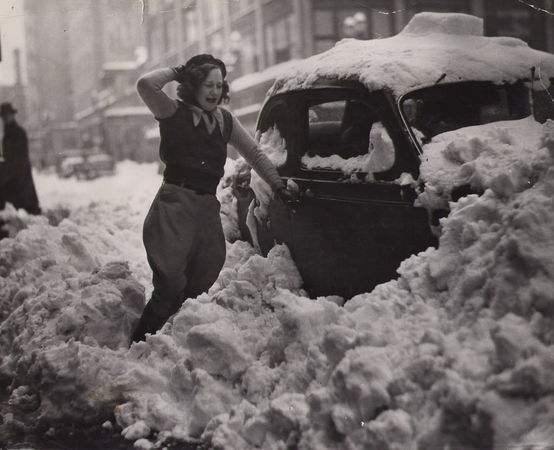 old-snow-photo
